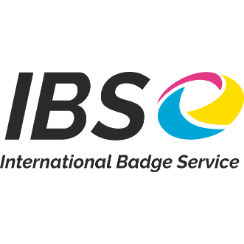 Logo bedrijf International Badge Service