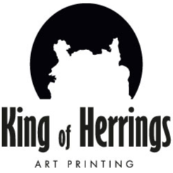 Logo bedrijf King of Herrings Art Printing